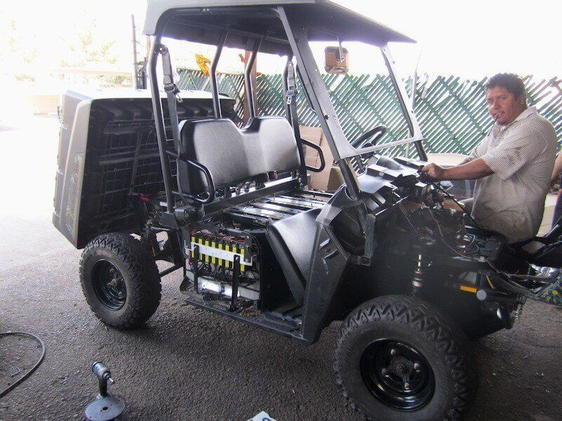 battery management system in polaris
