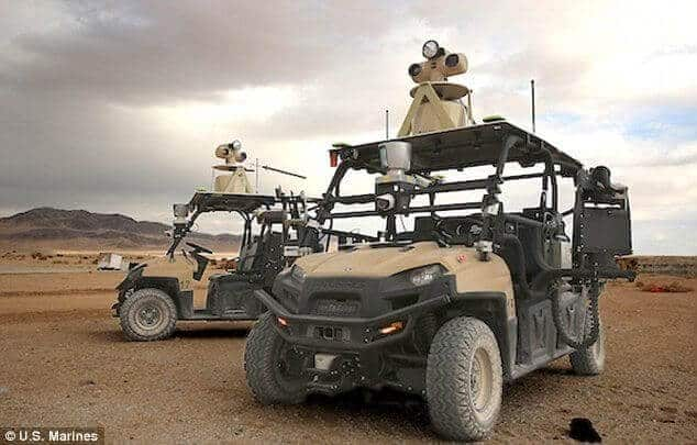 U.S. Army Unveils High-Tech, Self-Driving Golf Carts
