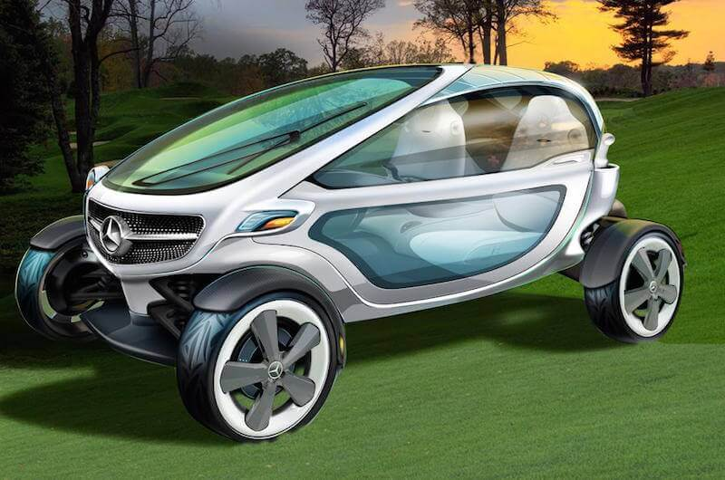 Will Mercedes-Benz Revolutionise the Golf Cart?