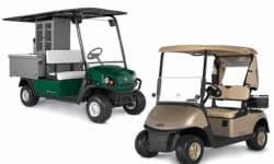 cushman and ezgo new models 2016