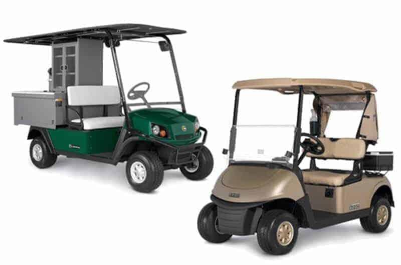 EZGO Showcases Redesigned RXV & New Hospitality Vehicle