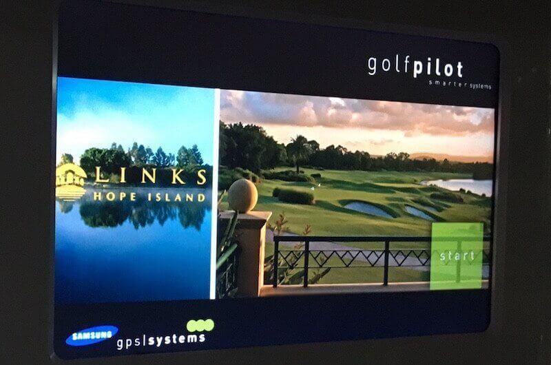 Samsung Golf Pilot Takes On Club Car's Visage