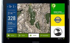 digital caddies GPS system