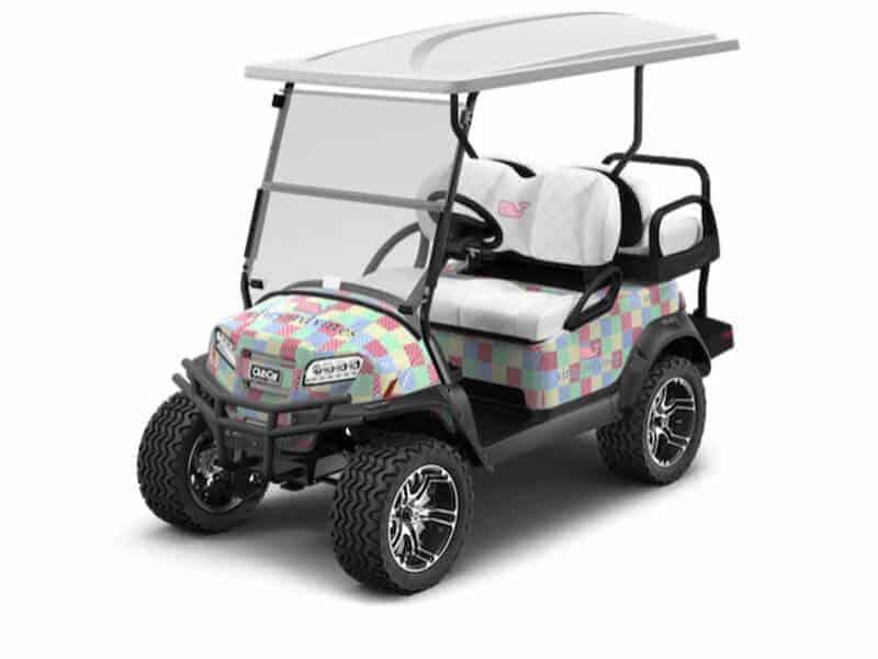 club car patchwork cart