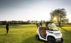 Garia's coolest ever golf car