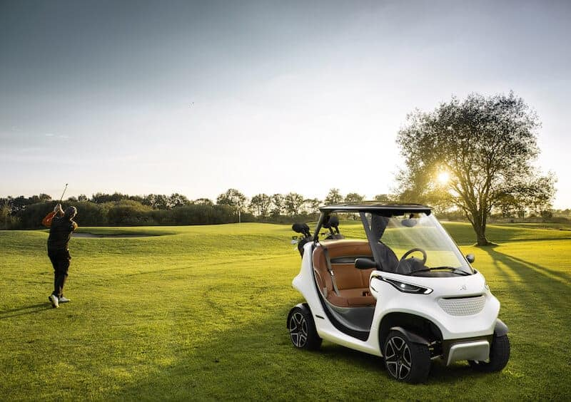 Garia's coolest ever golf car