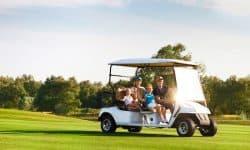 golf cart top speed