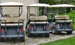 types of golf carts