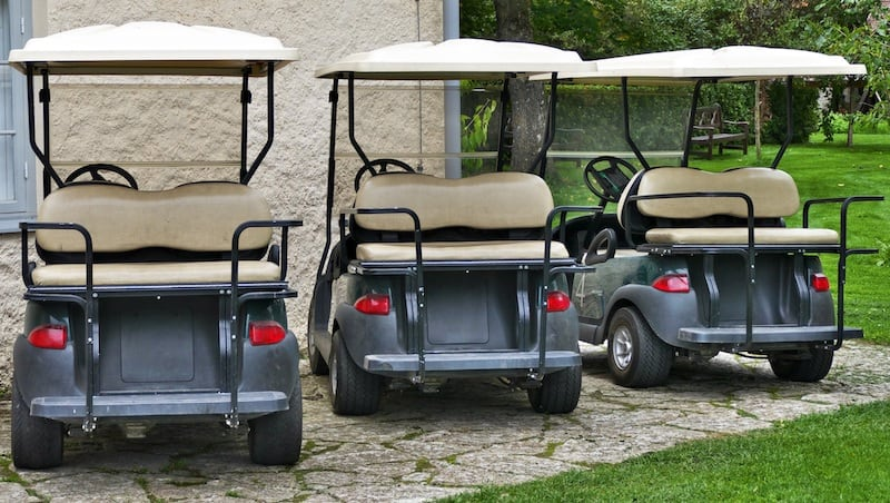 <span class='p-name'>What Are the Different Types of Golf Carts?</span>